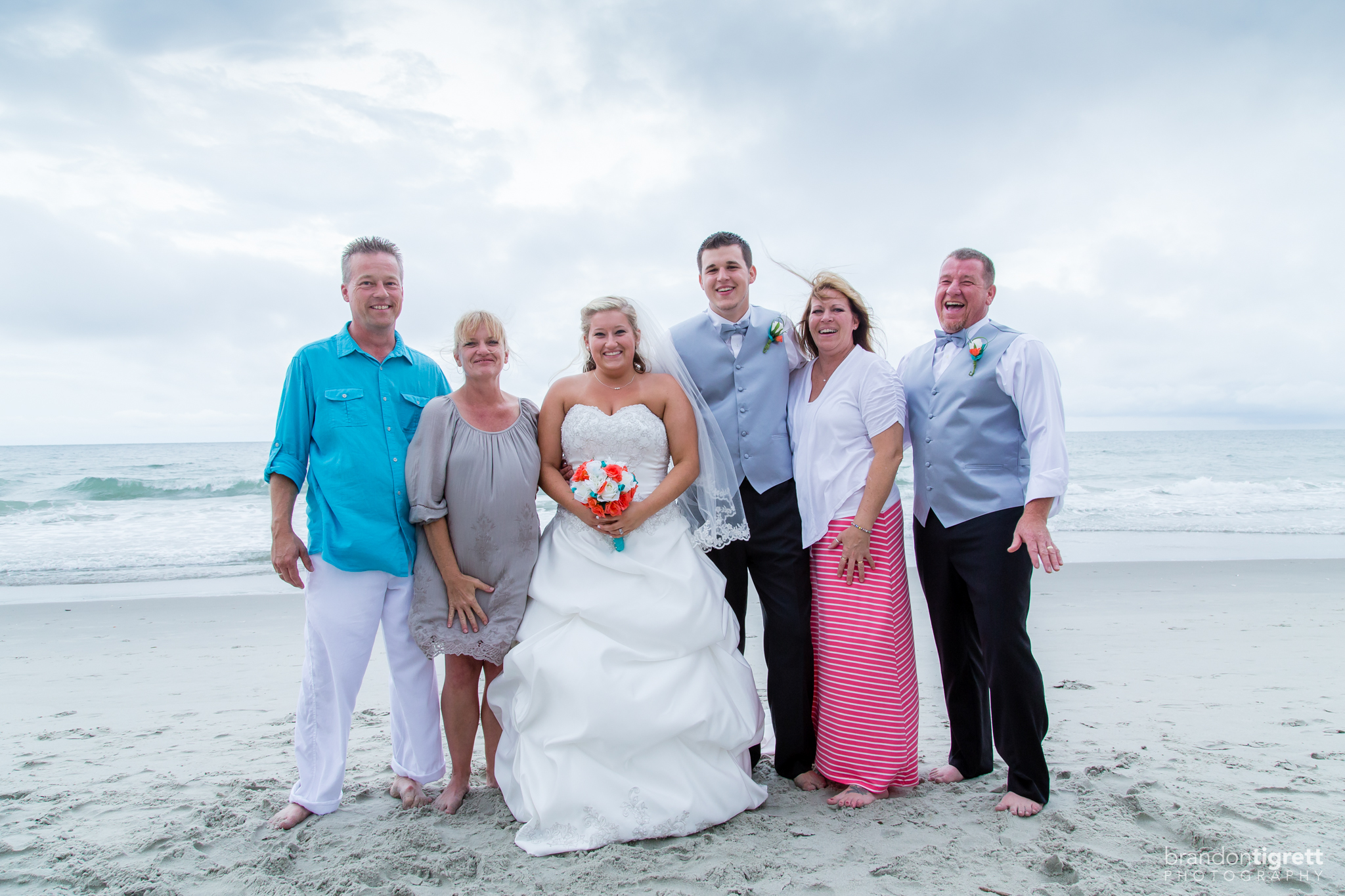 Bride and Groom's Families