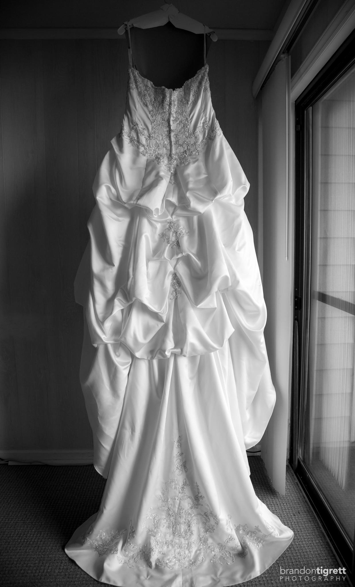 Wedding Detail Photos - Brides Gown