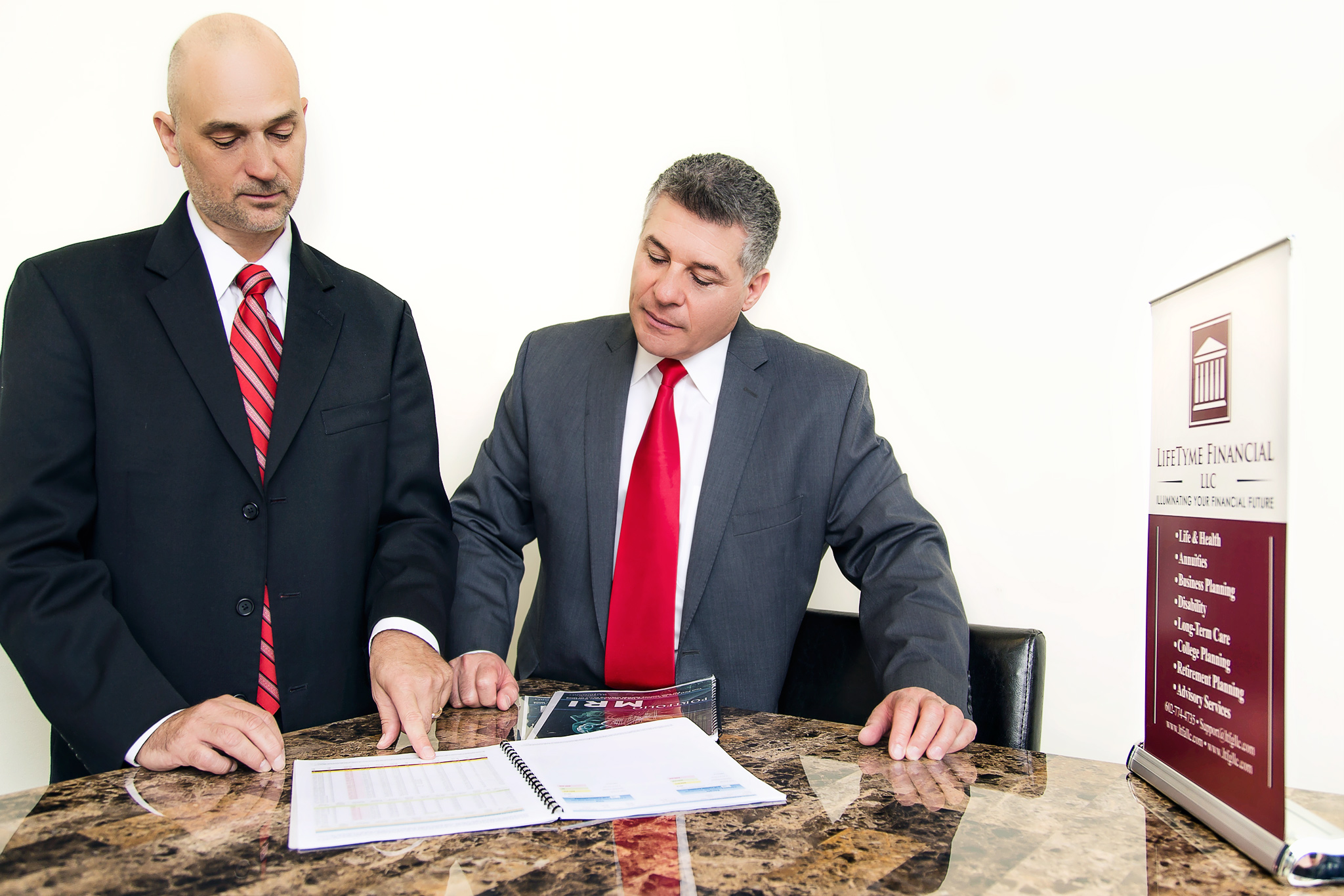 Financial Advisors Commercial Photography