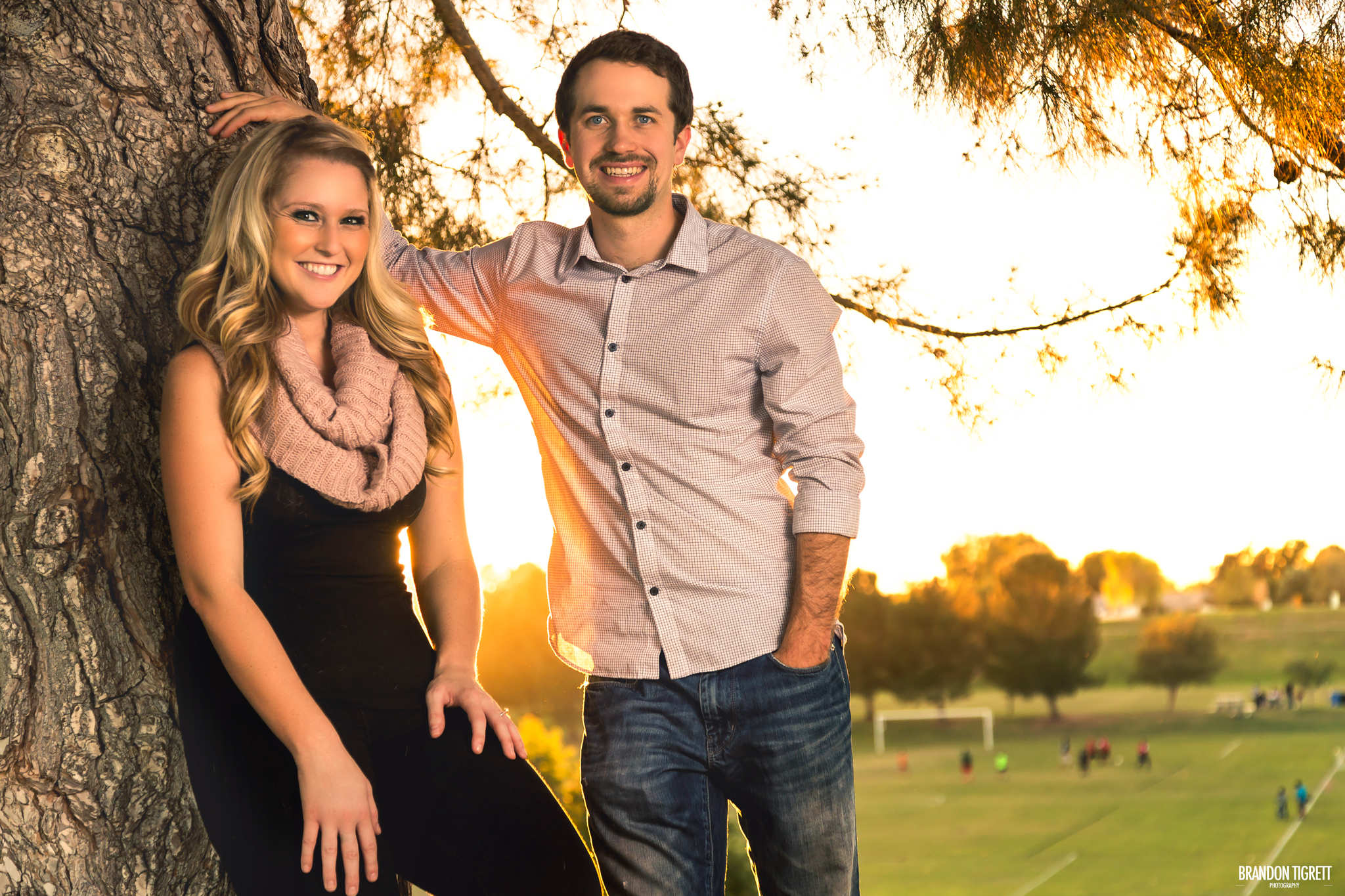 Kayla and Ryan - Couples Portrait - Gilbert, AZ