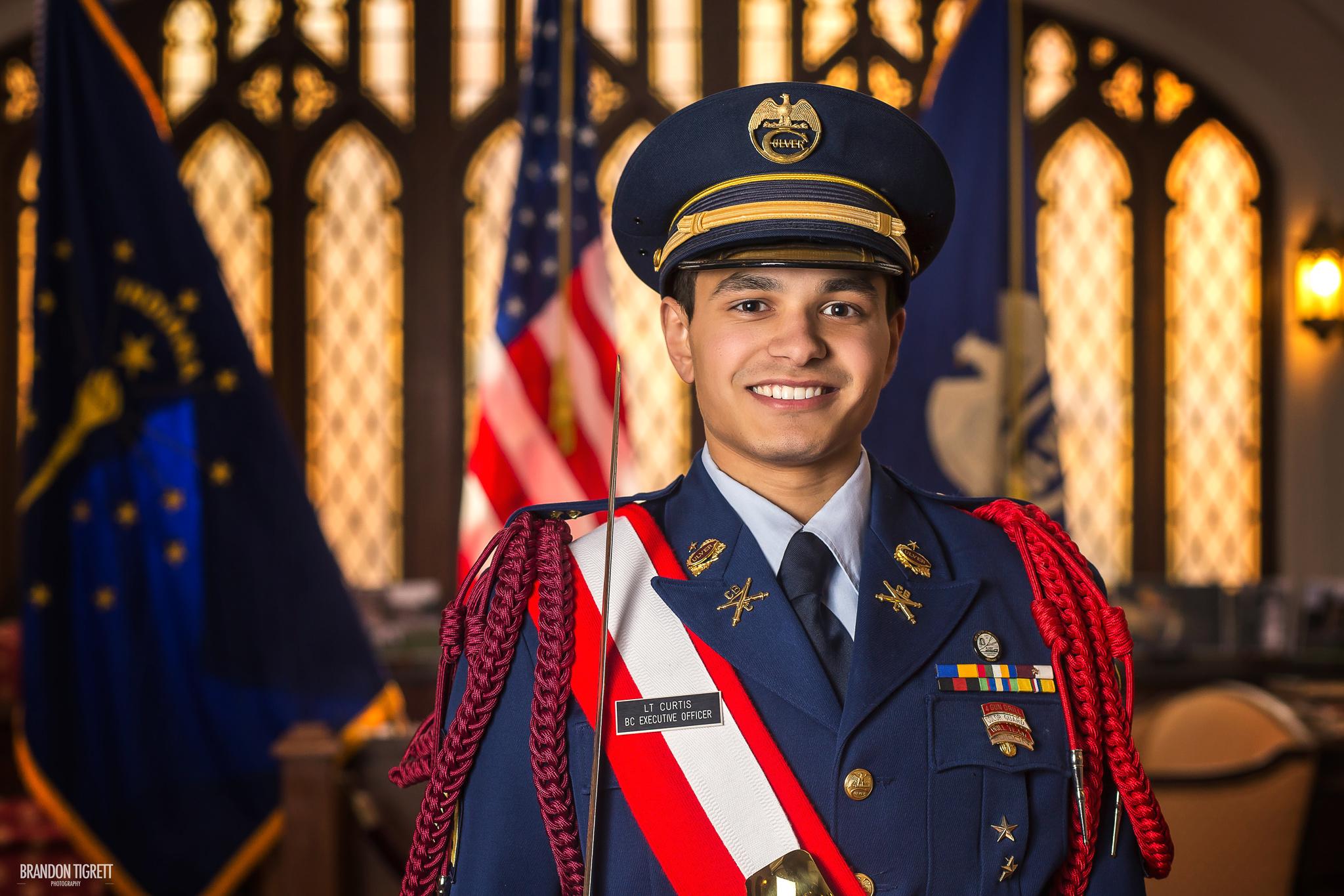 Culver Military Academy Senior Headshot - Formal