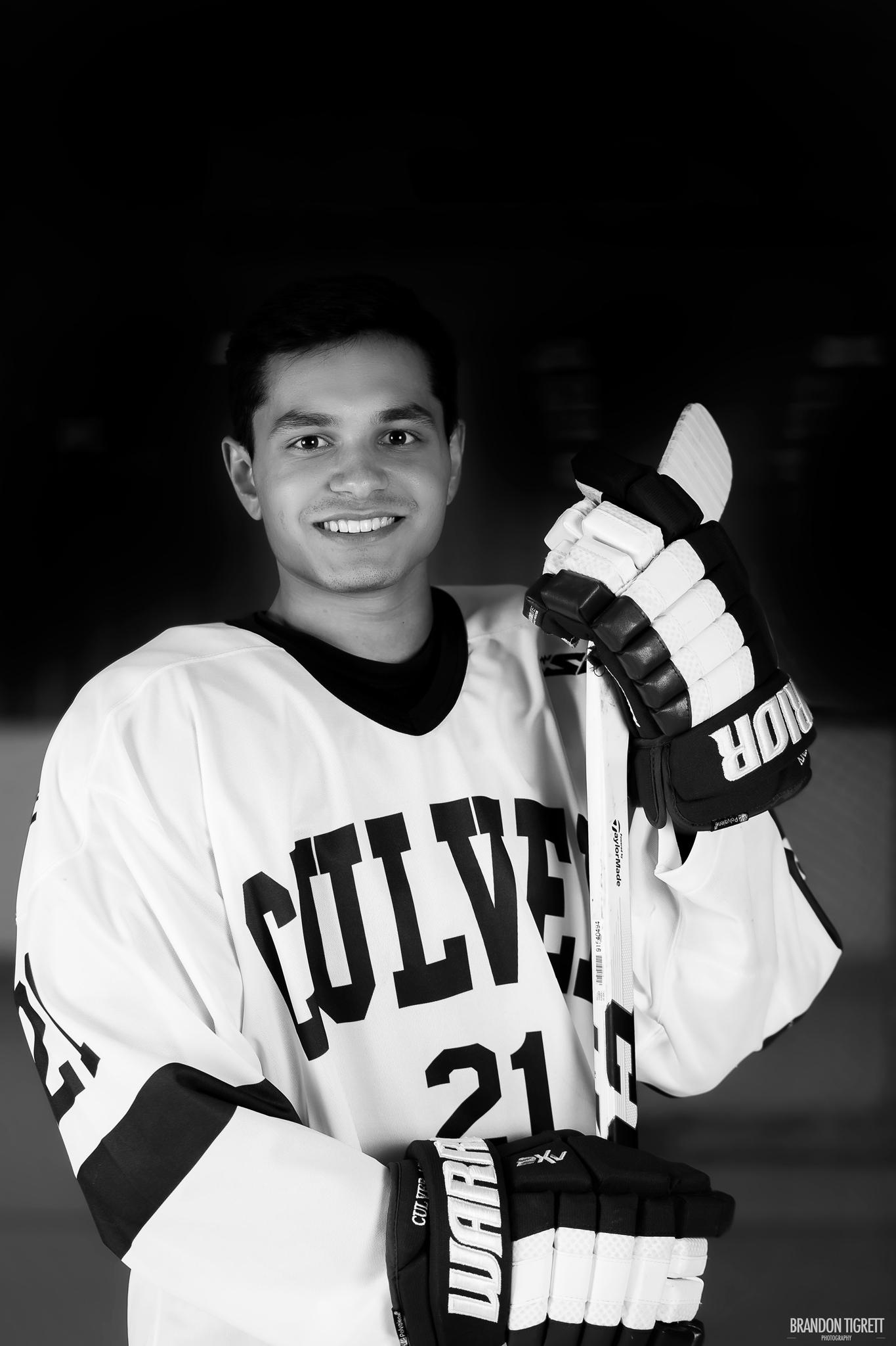 Culver Academy High School Senior Hockey Player
