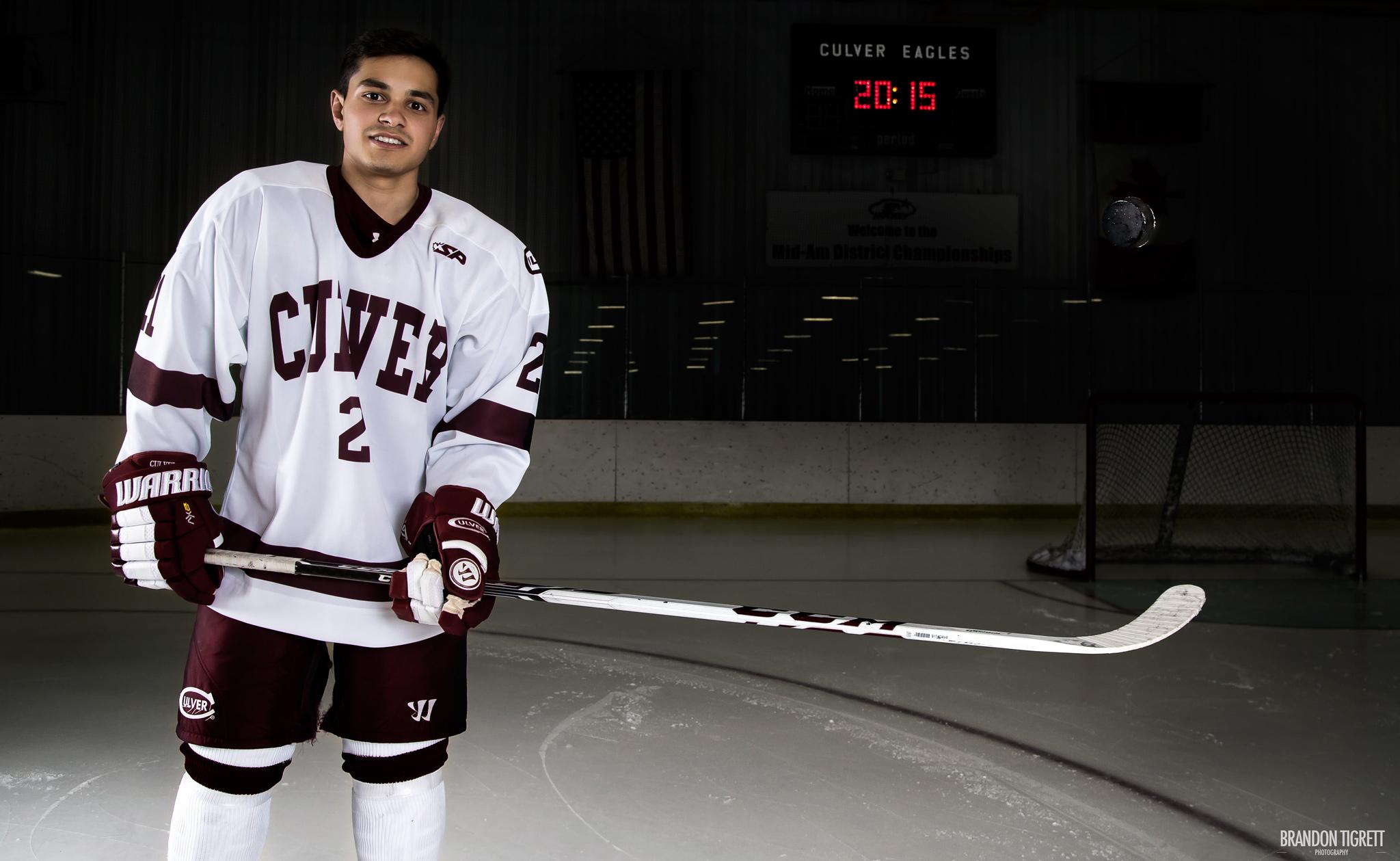 Culver Academy High School Senior - Hockey Player
