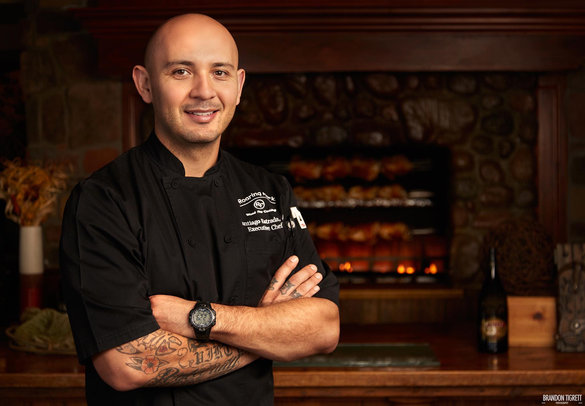 Executive Chef Portrait - The Roaring Fork, Scottsdale Santiago Estrada