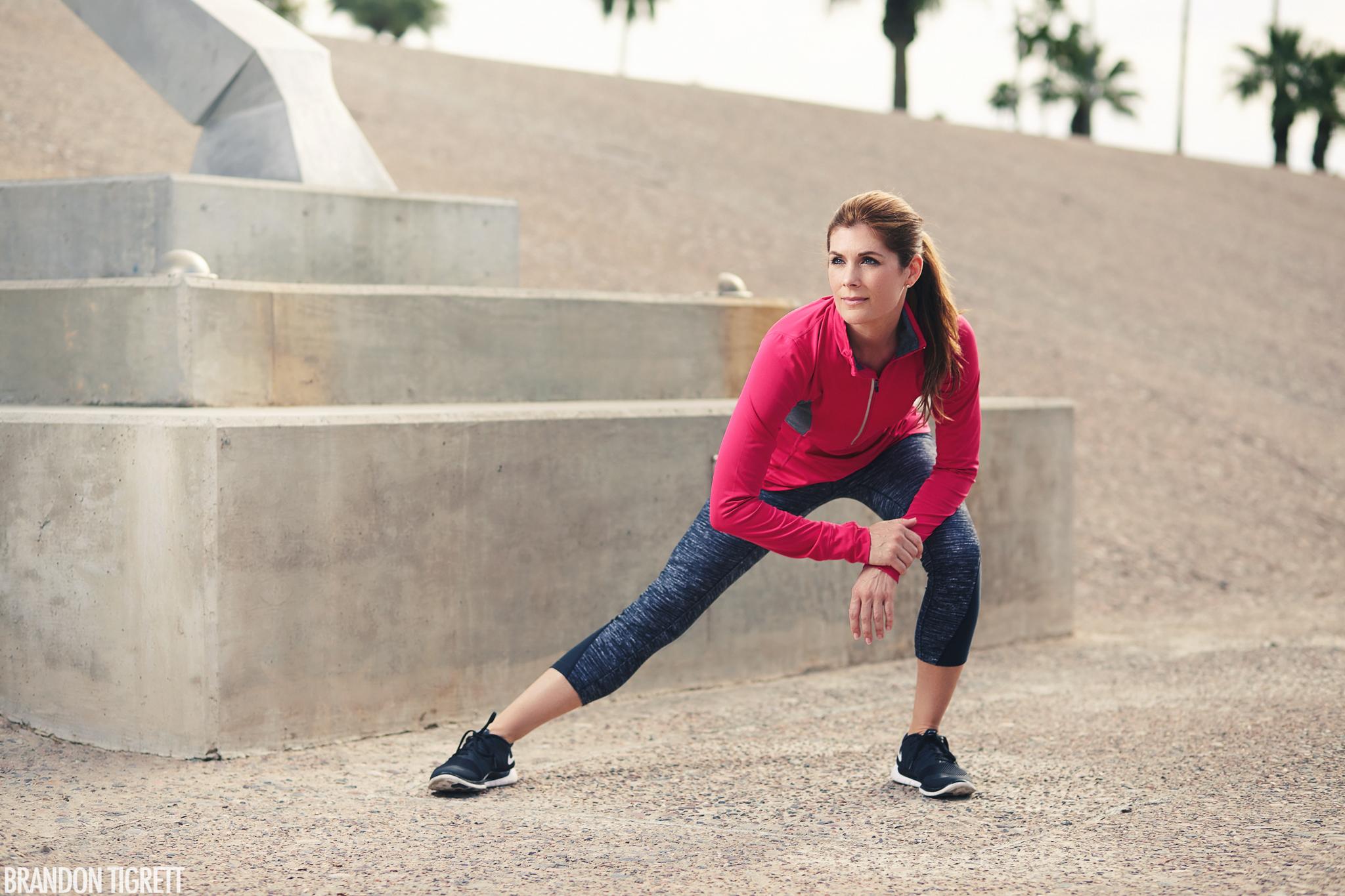 Nike Lifestyle Fitness Model - Julie Stevens