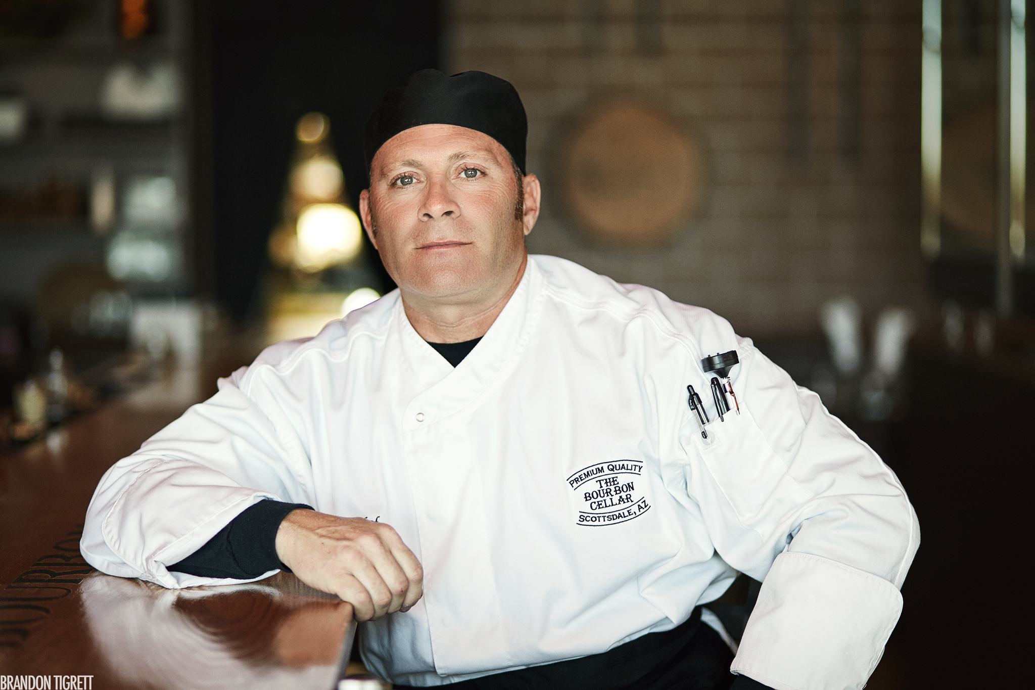 Doug Smith - Bourbon Cellar Chef Editorial Portrait