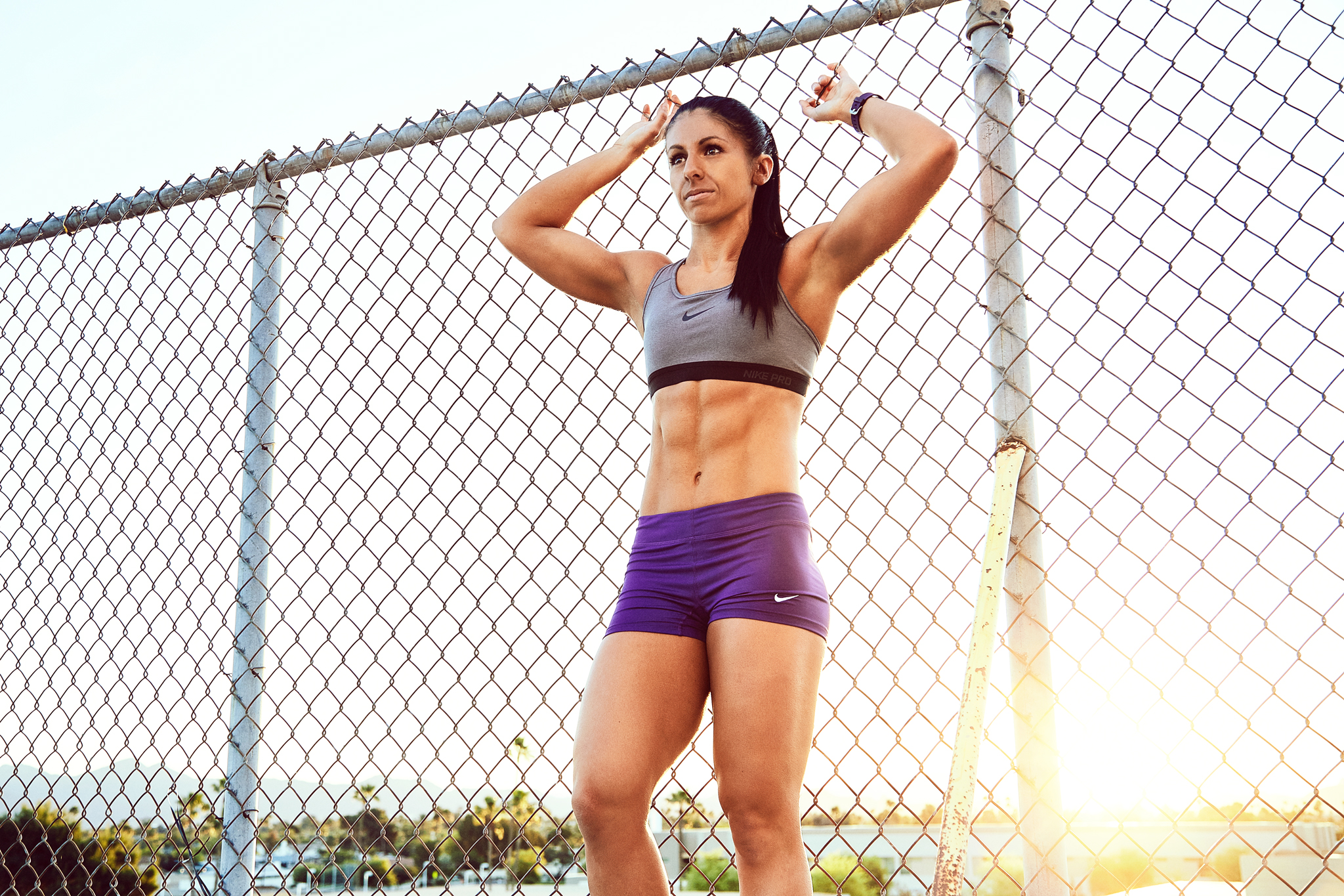 Nike Fitness Model - April Bleicher - Lifestyle Photos