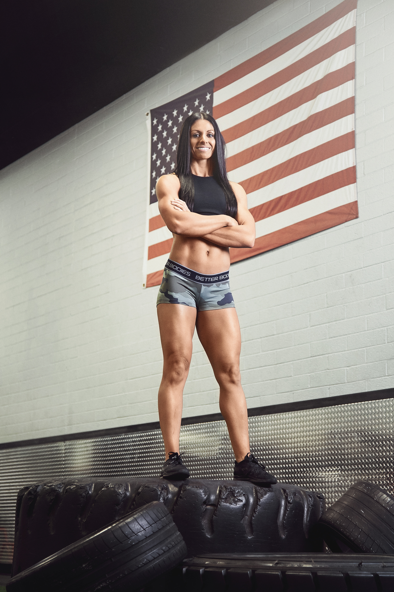 Fitness Competitor Photoshoot - April Bleicher