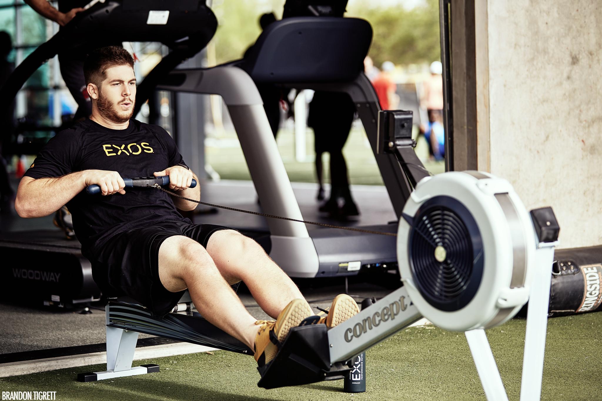 EXOS - NFL Combine - Athlete Rower