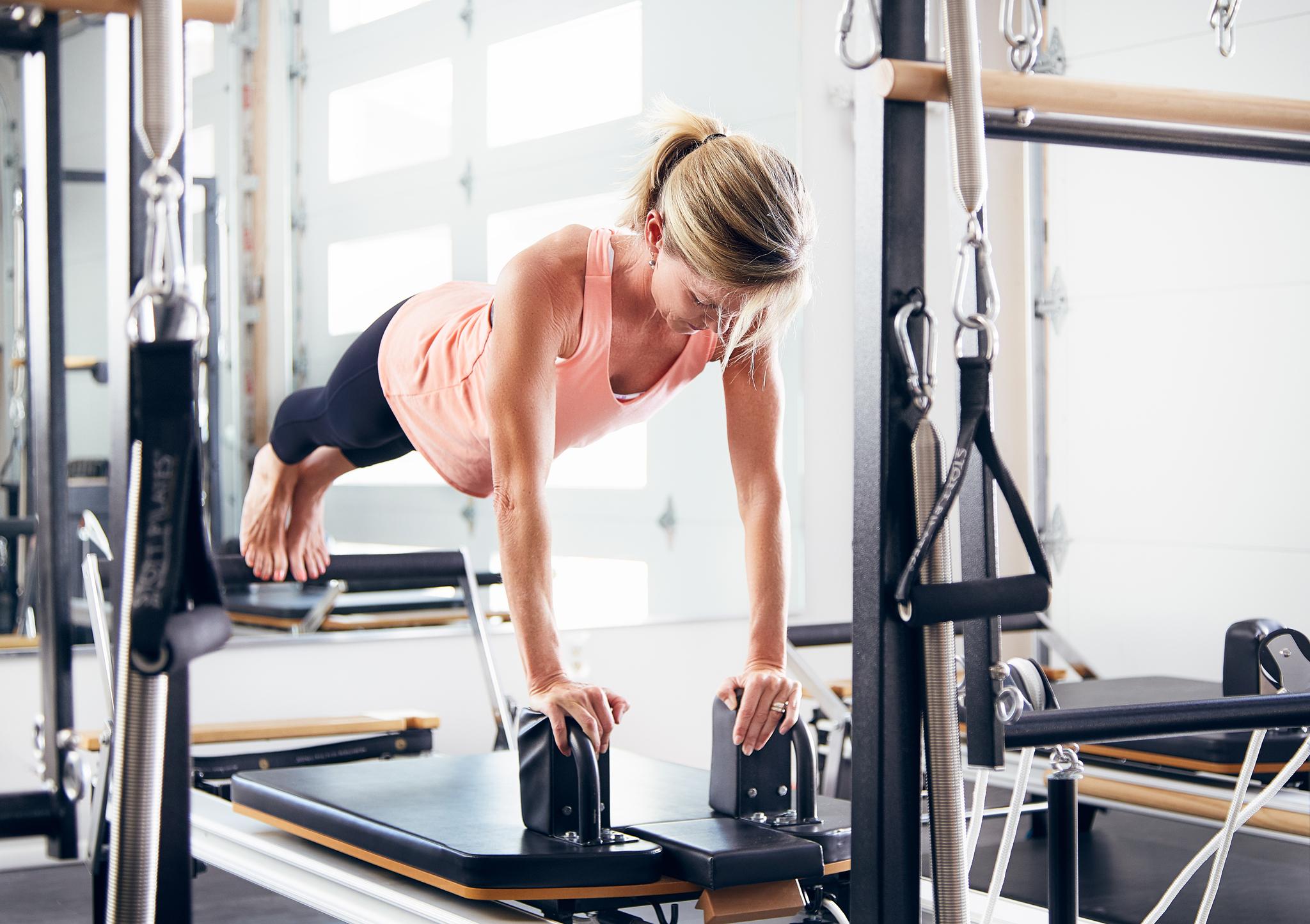Phoenix Commercial Fitness Photographer - Pilates Instructor