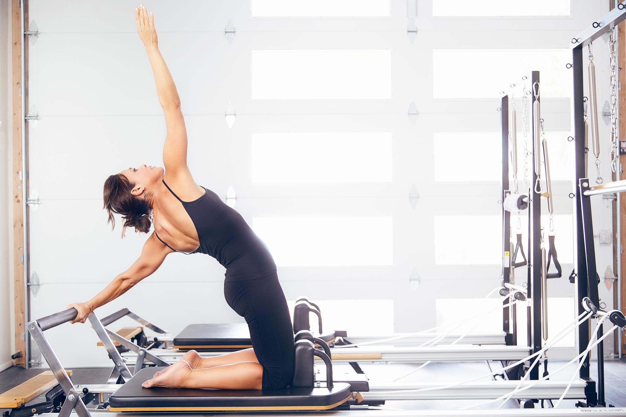 Phoenix Commercial Fitness Photographer - Pilates Photography