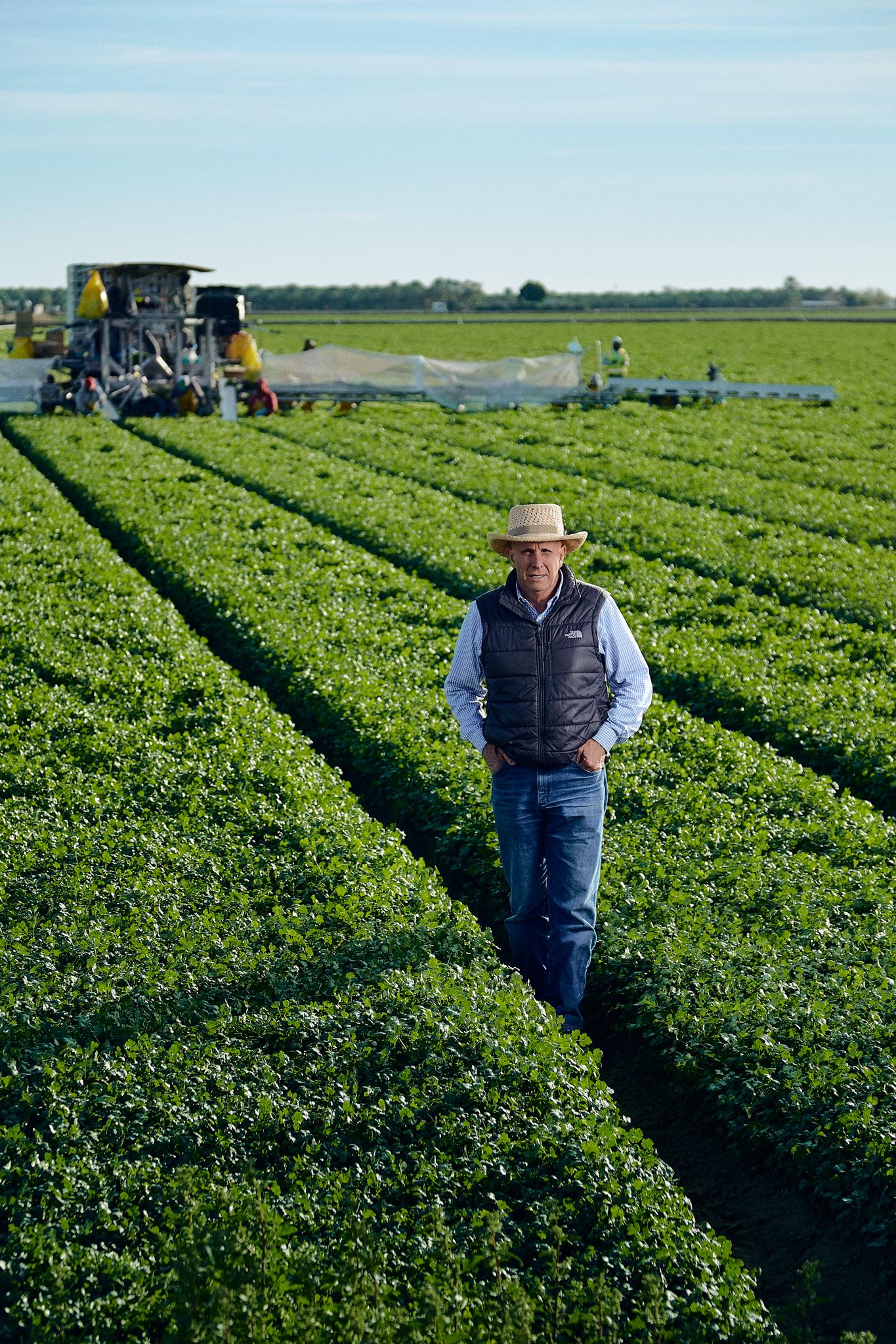 Phoenix Editorial Photographer - Eatingwell Magazine Farmer
