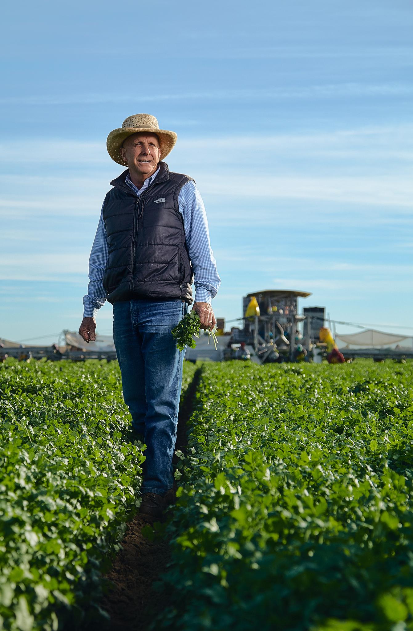 Arizona Editorial Photographer - Eatingwell Magazine Farmer