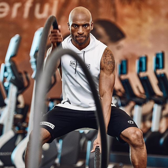 Life's about finding those moments where you didn't think you had any left in the tank and still kept on going!  Aka more awesomeness with Deandre! #fitnessmotivation #activelifestyle #commercialphotography