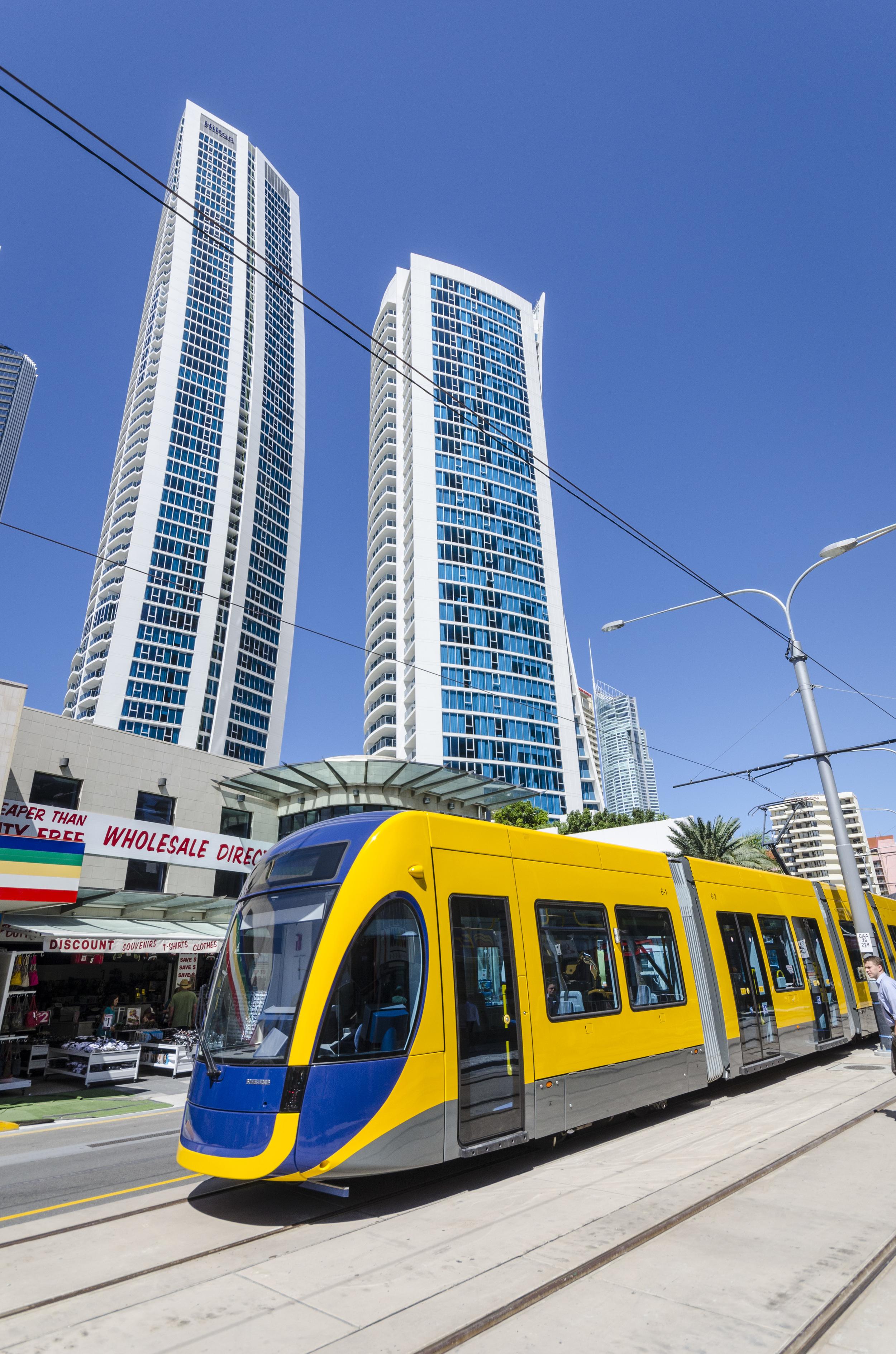 Další čtyři tramvaje Flexity 2 dodá do australského Gold Coastu Bombardier. (foto: Bombardier)