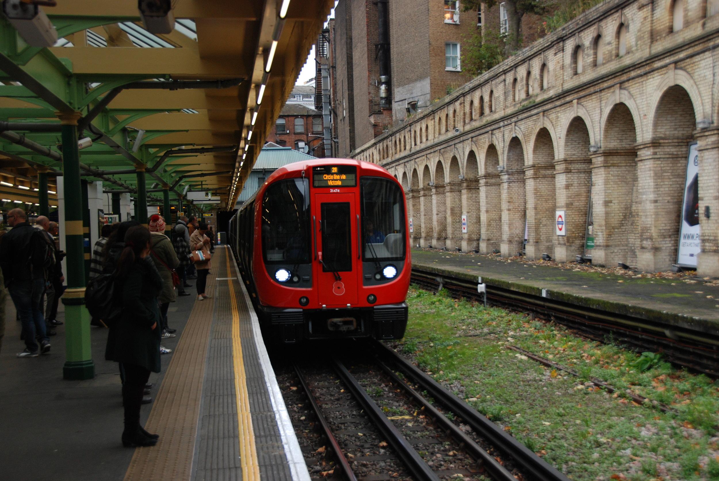 Londýnské metro patří mezi největší na světě. (foto: Libor Hinčica)