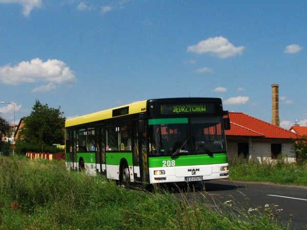 Dnes ve vozovém parku autobusů v Zelené Hoře dominuje značka MAN. (foto: MZK w Zielonej Górze)