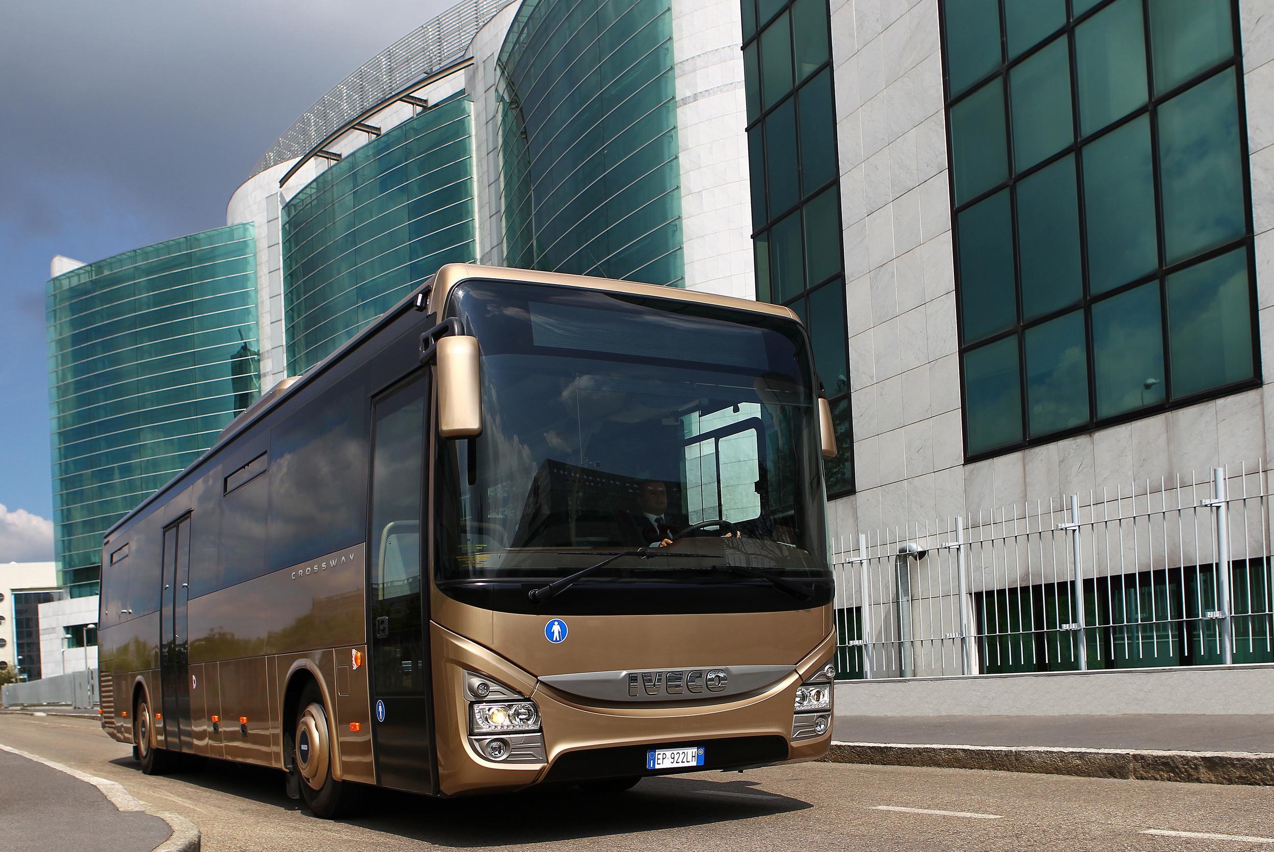 Nejúspěšnějším modelem současnosti je Iveco Crossway. (foto: Iveco Bus)