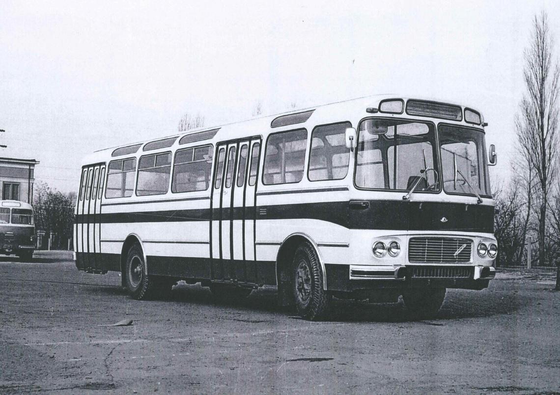 Prototyp autobusu RTO-ŠM 11 vznikl patrně v roce 1967. (foto: archiv Iveco Czech Republic)