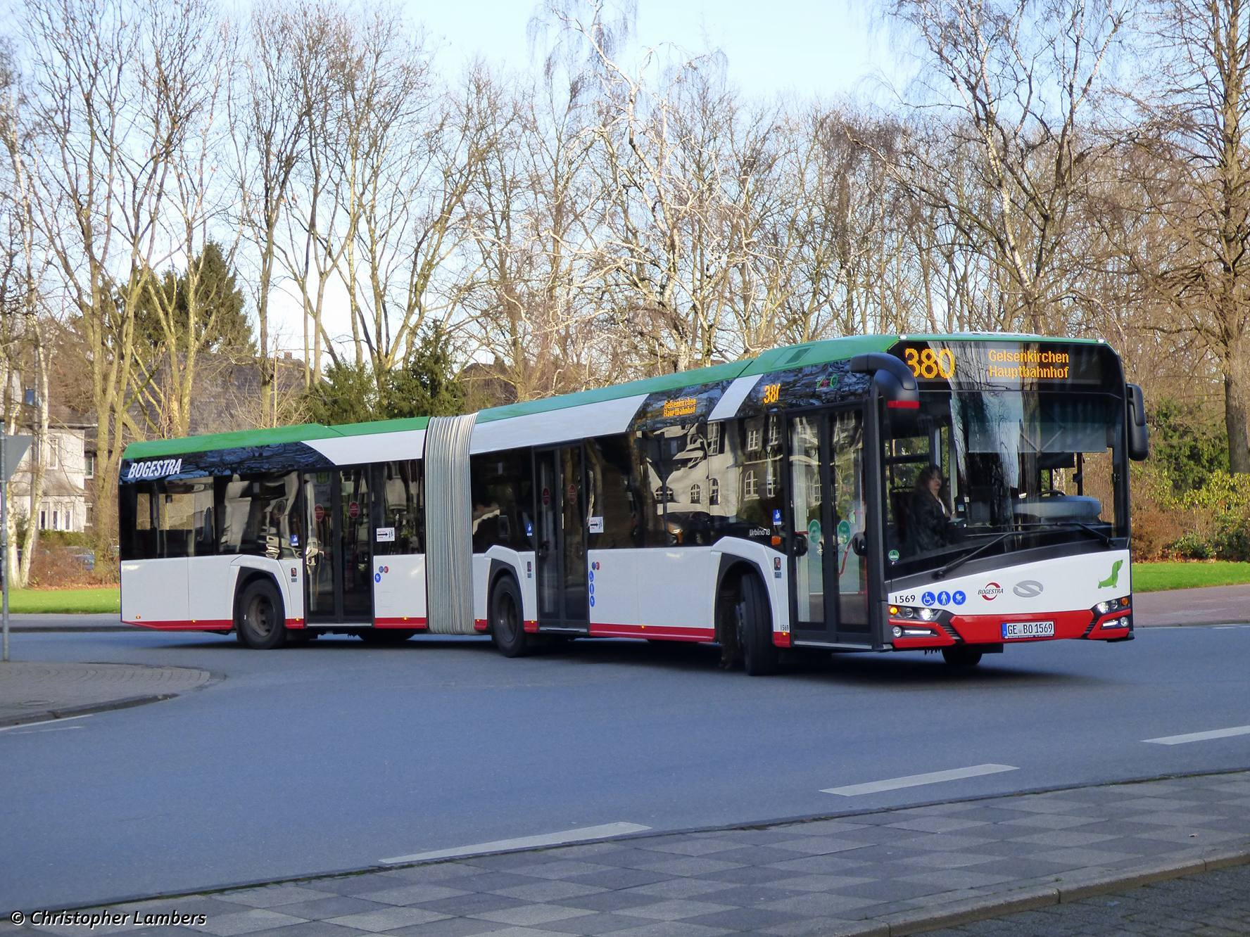 Nový Solaris v délkovém provedení 18 m u německého dopravce BOGESTRA. (zdroj: Solaris)