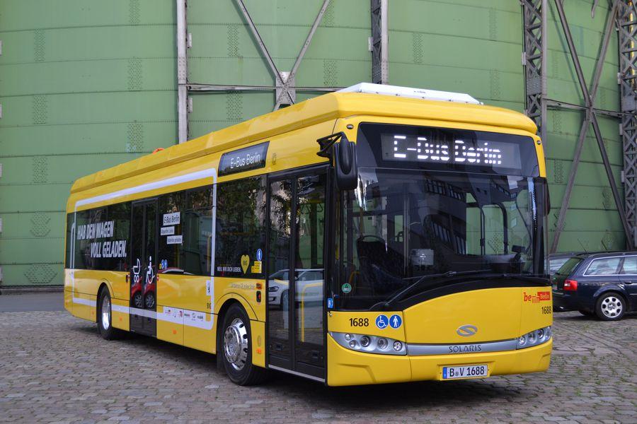 Elektrobusy jsou řešeny jako dvoudveřové. (foto: BVG, Oliver Lang)