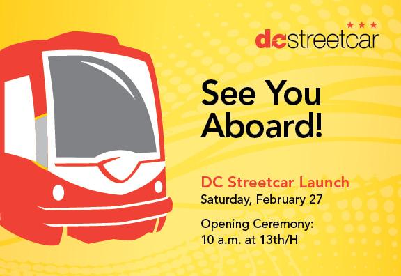 Kdybyste měli v sobotu 27. 2. 2016 cestu kolem... (zdroj: DC Streetcar)
