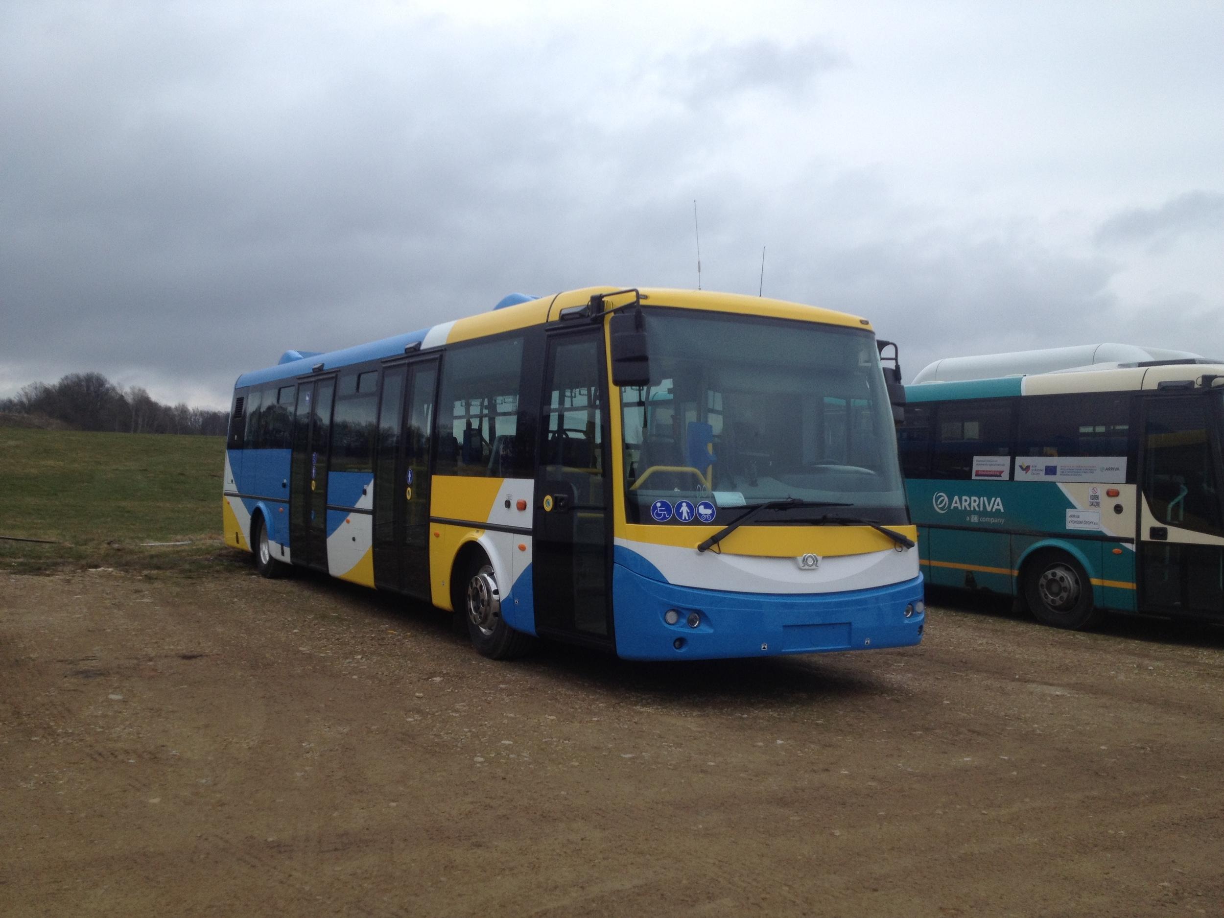 Jeden z nových elektrobusů pro Košice. (foto: ČS Dopravák)
