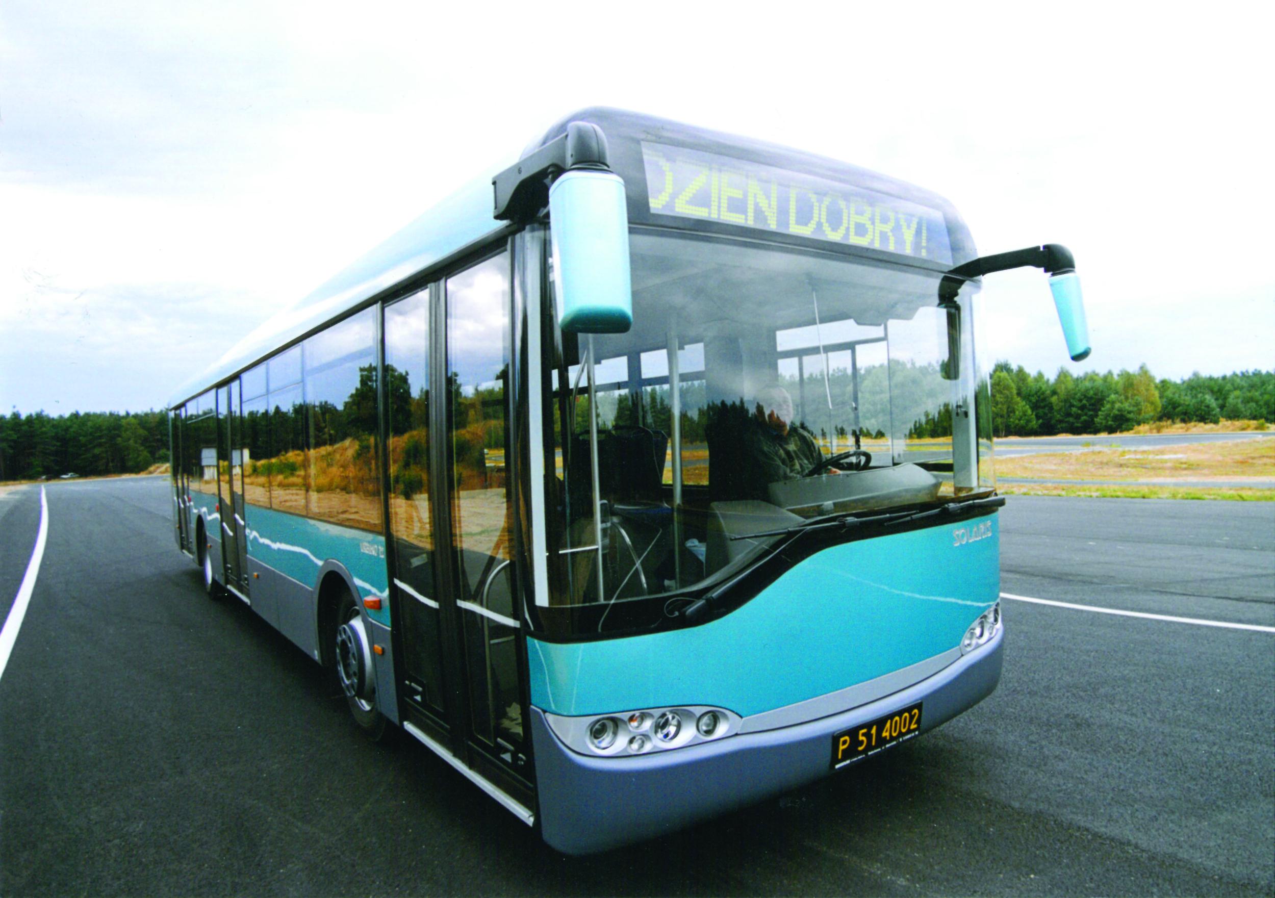 Jeden z prvních vyrobených vozů Solaris Urbino z roku 1999. (zdroj: Solaris Bus & Coach)