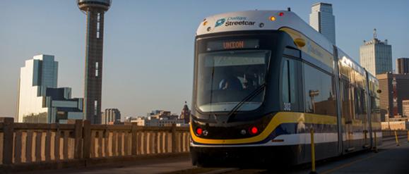 Tramvaj Liberty od výrobce Brookville Equipment Corp v Dallasu. (zdroj: Brookville Equipment Corp)