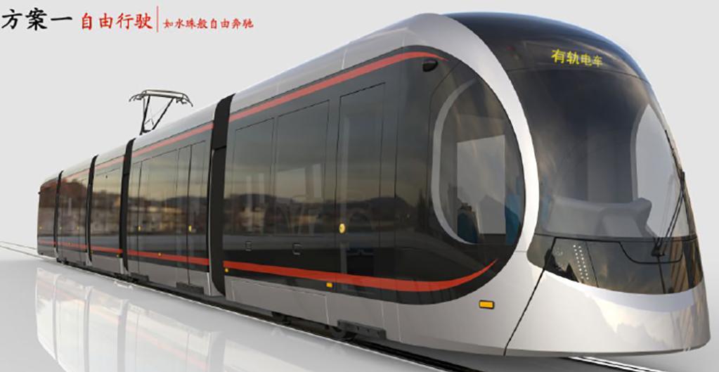Takto by měly vozy postavené na bázi licence Bombardieru vypadat.