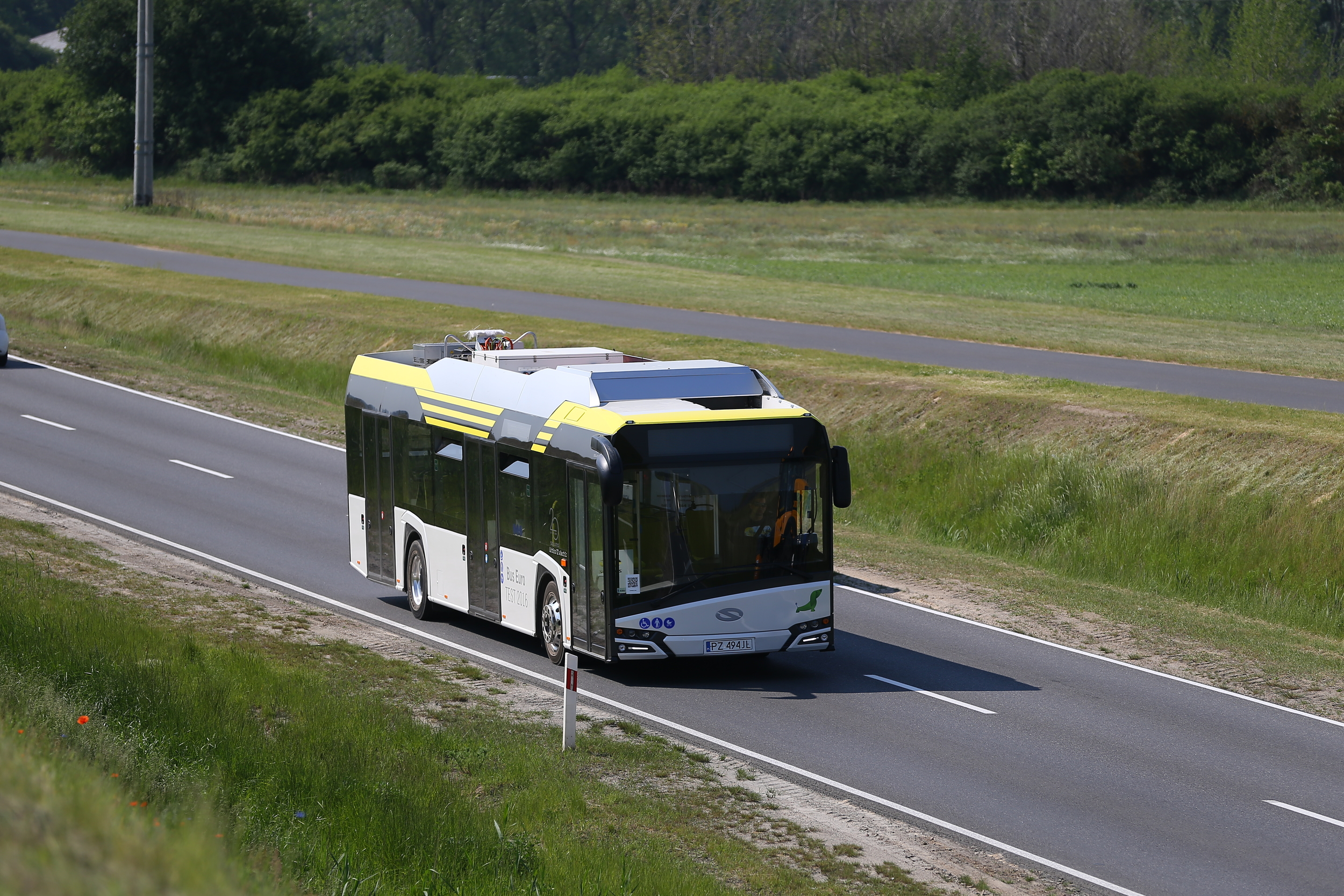Polský Solaris se do boje o titul Bus of the Year zapojil po 12 letech. V Belgii vybírá porota nejlepší městský evropský autobus ve dnech 30. 5. až 3. 6. 2016. (foto: Solaris Bus & Coach)