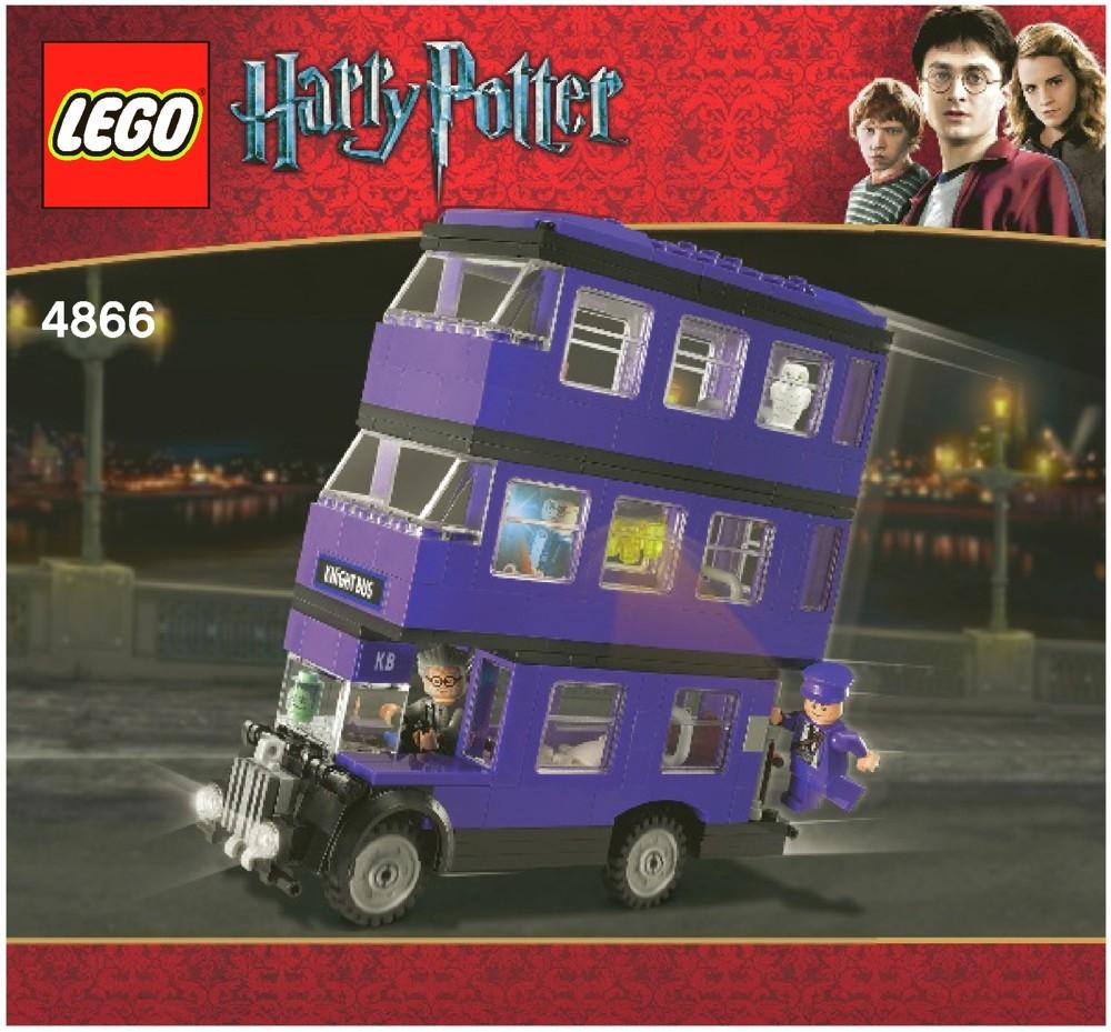 Záchranný autobus (Knight bus) se dočkal i zpracování v populární stavebnici LEGO. (zdroj: Amazon.com)