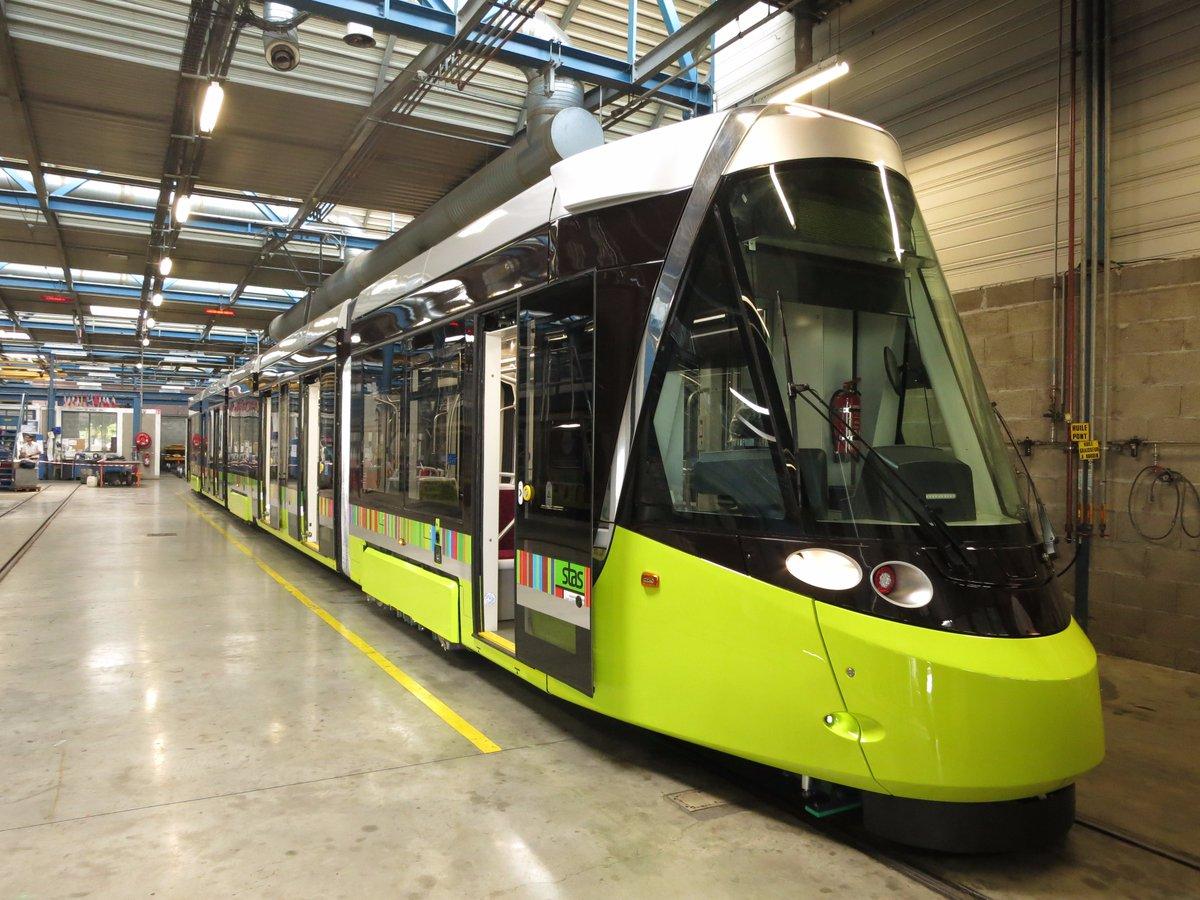 Vzhled nových vozů CAF Urbos pro Saint Étienne. (foto: CAF)