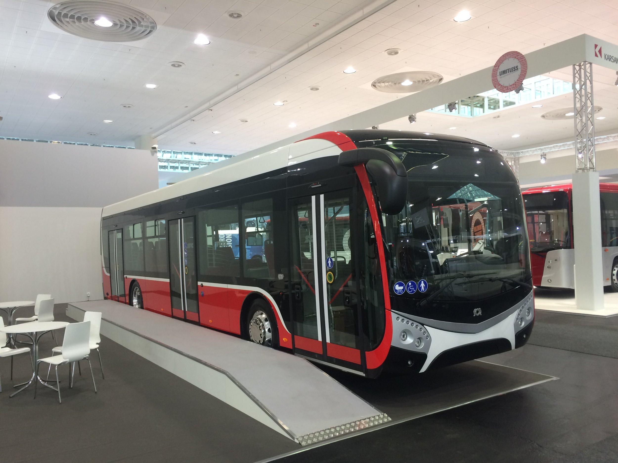 Nový koncept 12m elektrického autobusu od SORu. (foto: Libor Hinčica)