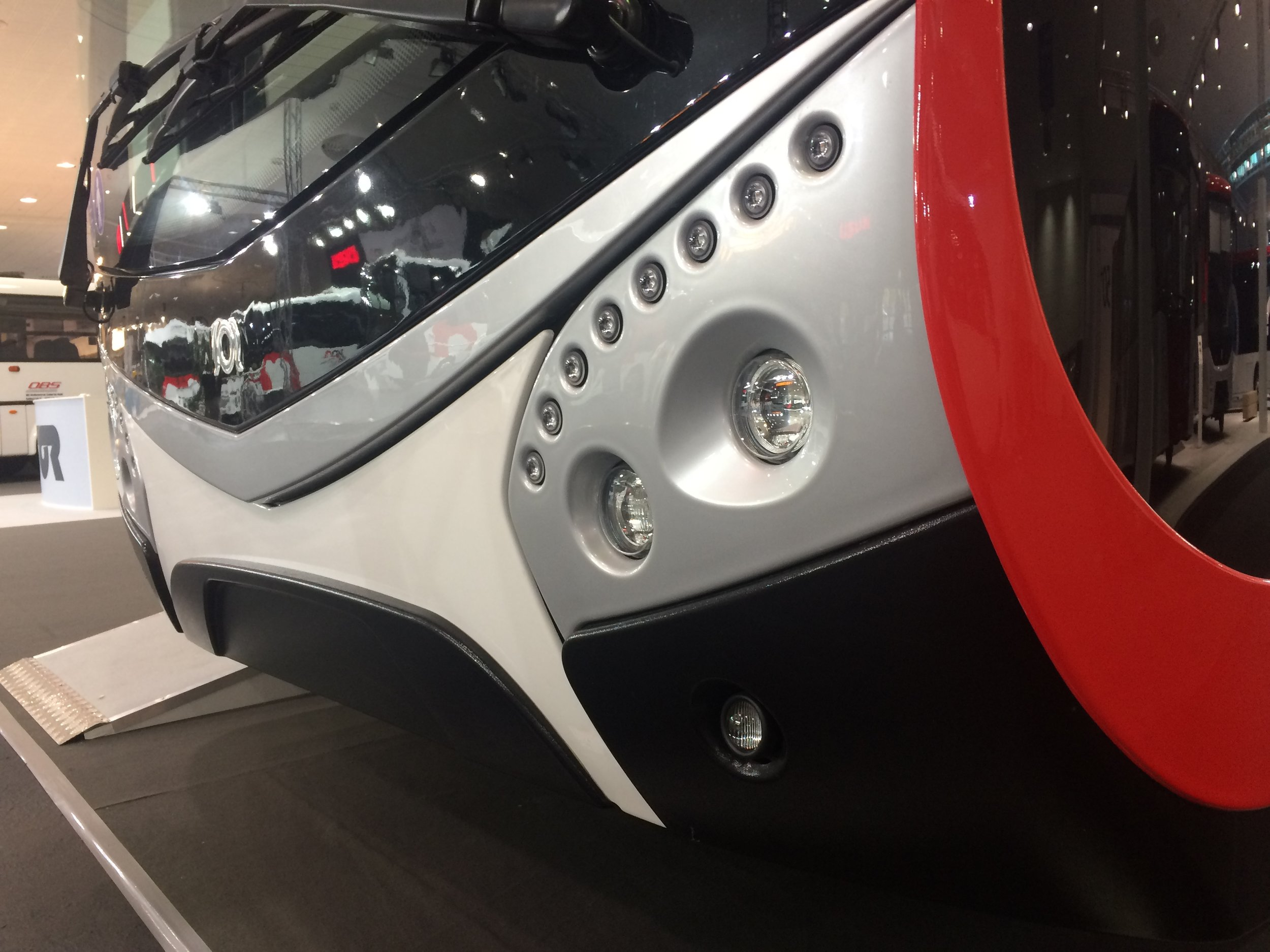 Detail čela vozidla. (foto: Libor Hinčica)