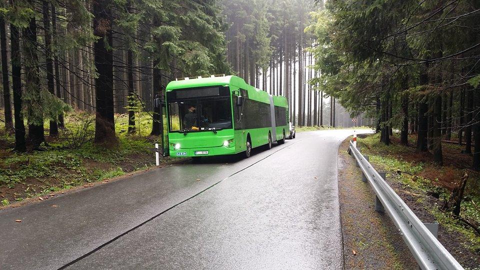 Článkový elektrobus Electron pro Švédsko. (zdroj: facebook společnosti EKOVA ELECTRIC)