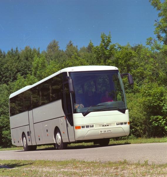 MAN Lion's Coach na snímku z roku 1996. (foto: MAN Truck & Bus)
