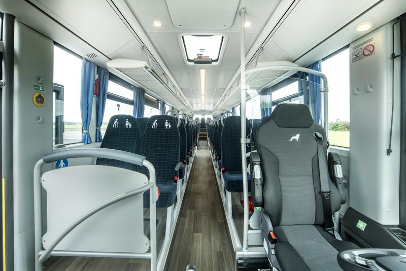 Interiér vozu MAN Lion's Intercity C. (foto: MAN Truck & Bus)