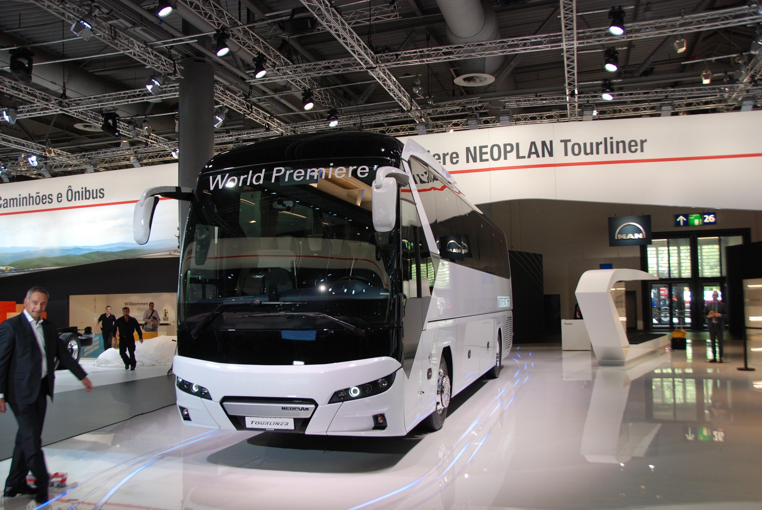 Neoplan Tourliner měl na veletrhu světovou premiéru. (foto: Libor Hinčica)