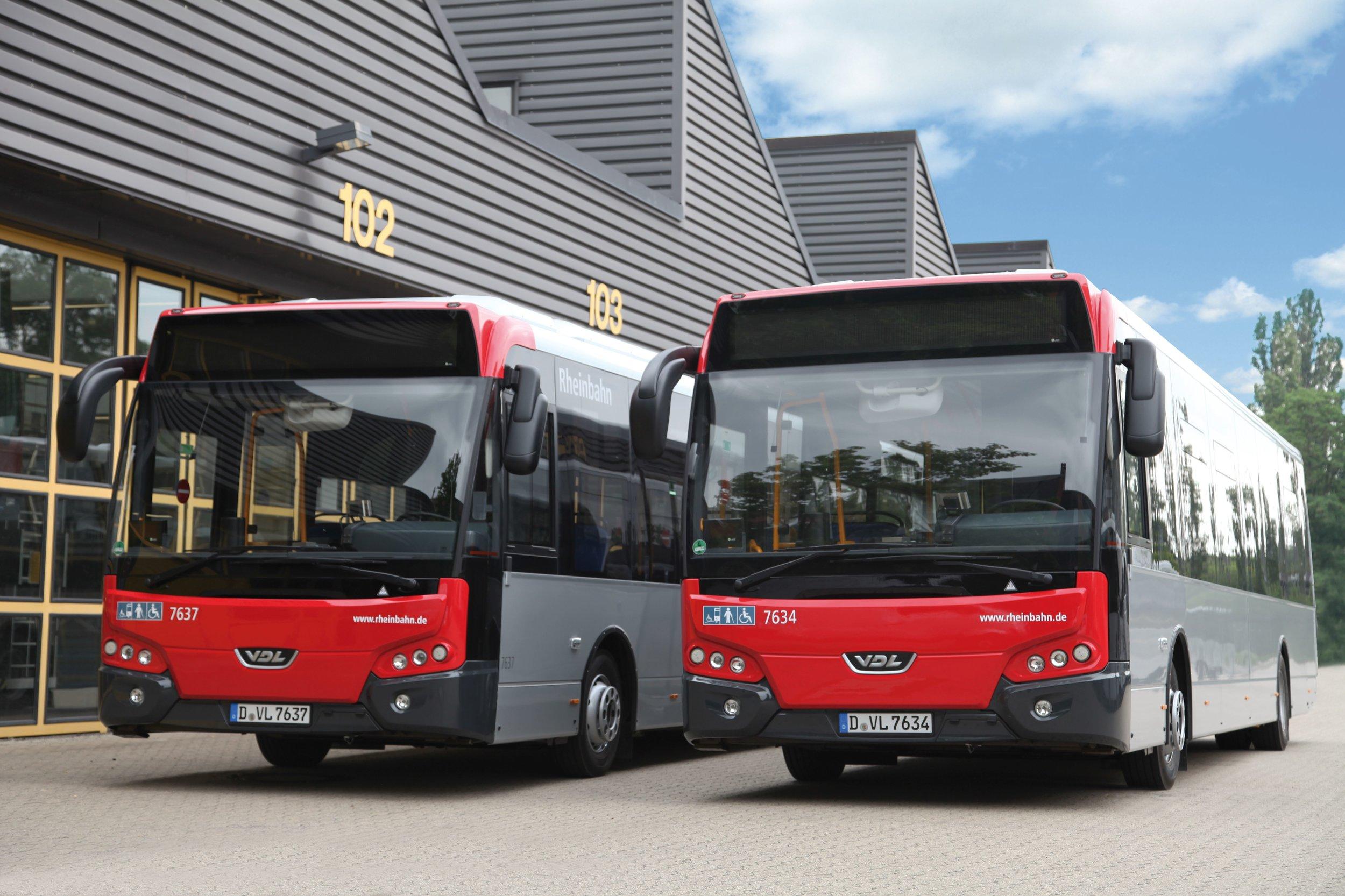 Dopravce Rheinbahn AG provozuje 60 vozů CDL Citea LLE 120 od roku 2013. (foto: VDL Bus & Coach)
