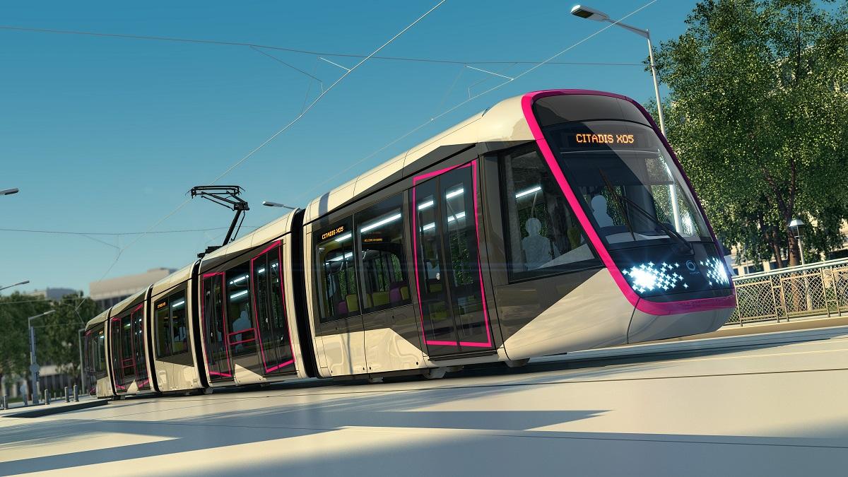 Vizualizace tramvaje Citadis X05. (zdroj: Alstom)