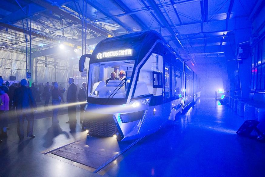 Nová tramvaj Moderus Gamma od Modertransu. (foto: MODERTRANS)