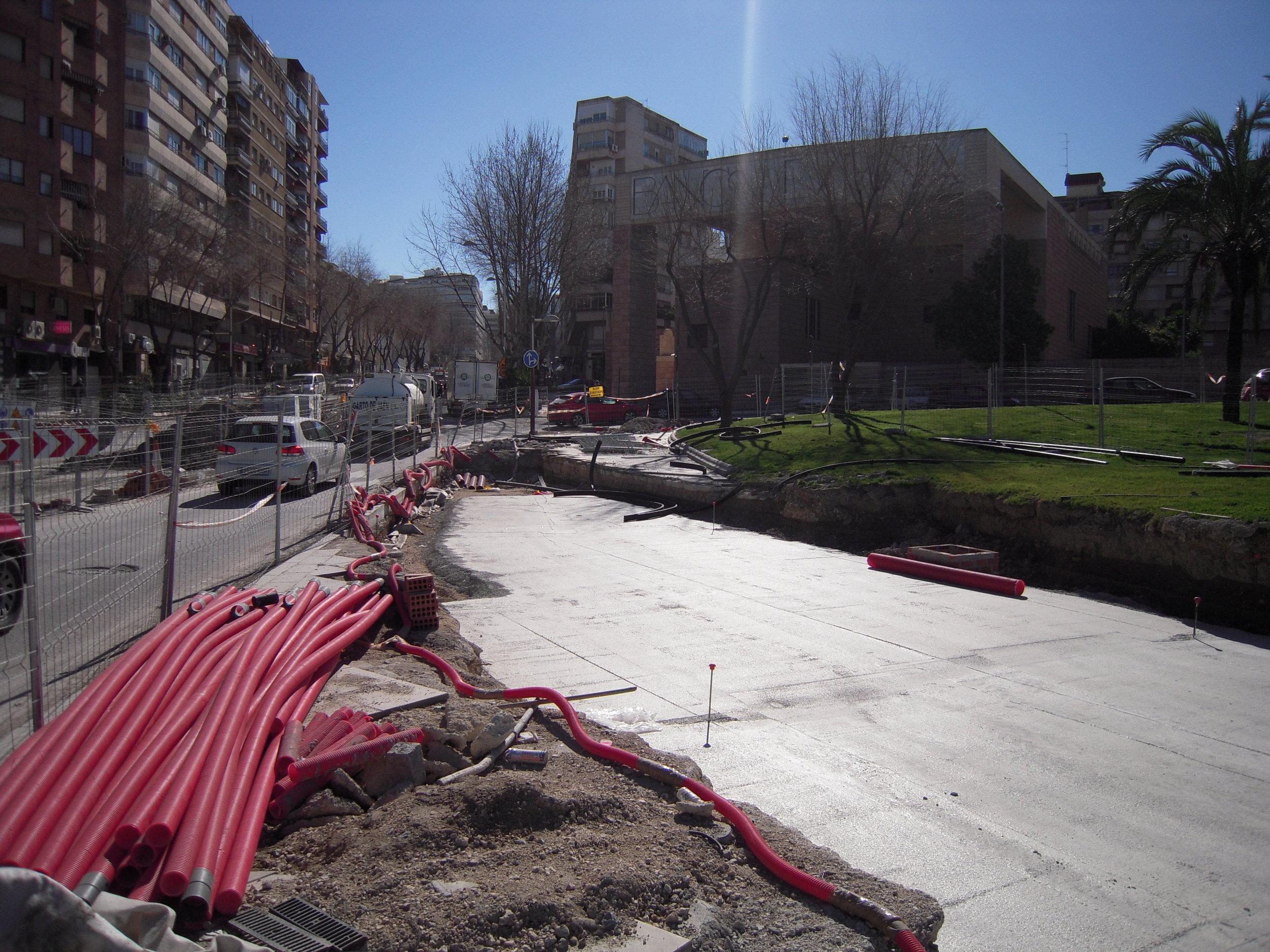 Další dva snímky z Jaénu z února 2010.