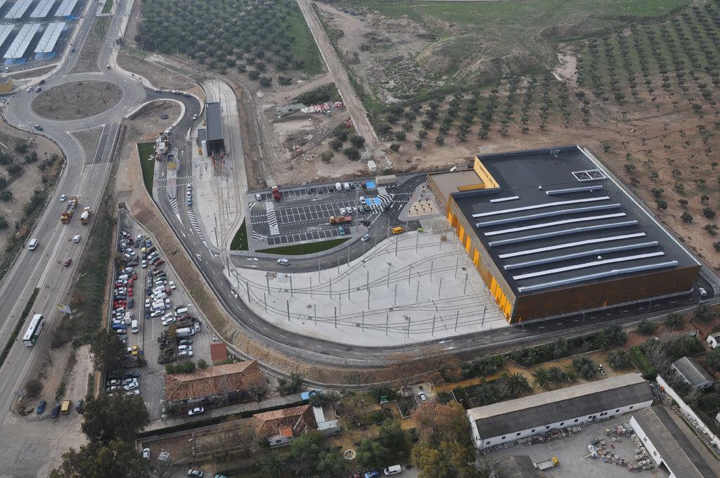 Jiná města by mohla závidět.(zdroj:Agencia de Obra Pública de la Junta de Andalucía)