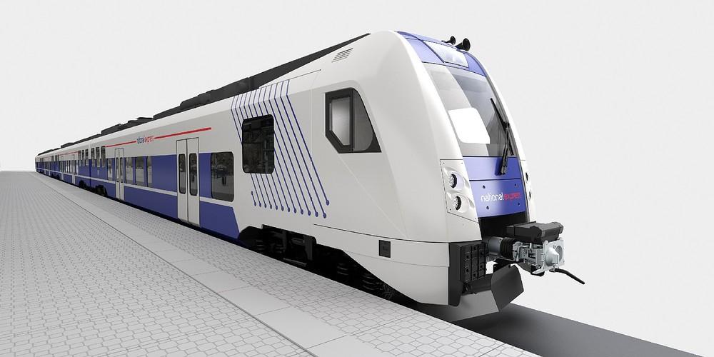 Takto měly vypadat vlaky National Expressu. Pětivozové soupravy v počtu 39 kusů měla dodat česká Škoda Transportation. Kvůli průtahům v tendru k tomu však nedojde. (zdroj: Škoda Transportation)