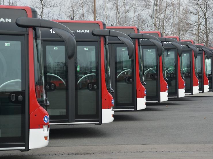 Autobusy MAN Lion's City pro Braunschweig. (foto: MAN Truck & Bus)