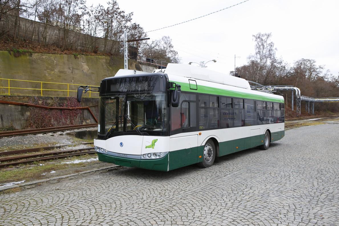 Trolejbus Škoda 26 Tr pro Plzeň v areálu Škody Electric. (foto: Škoda Transportation)