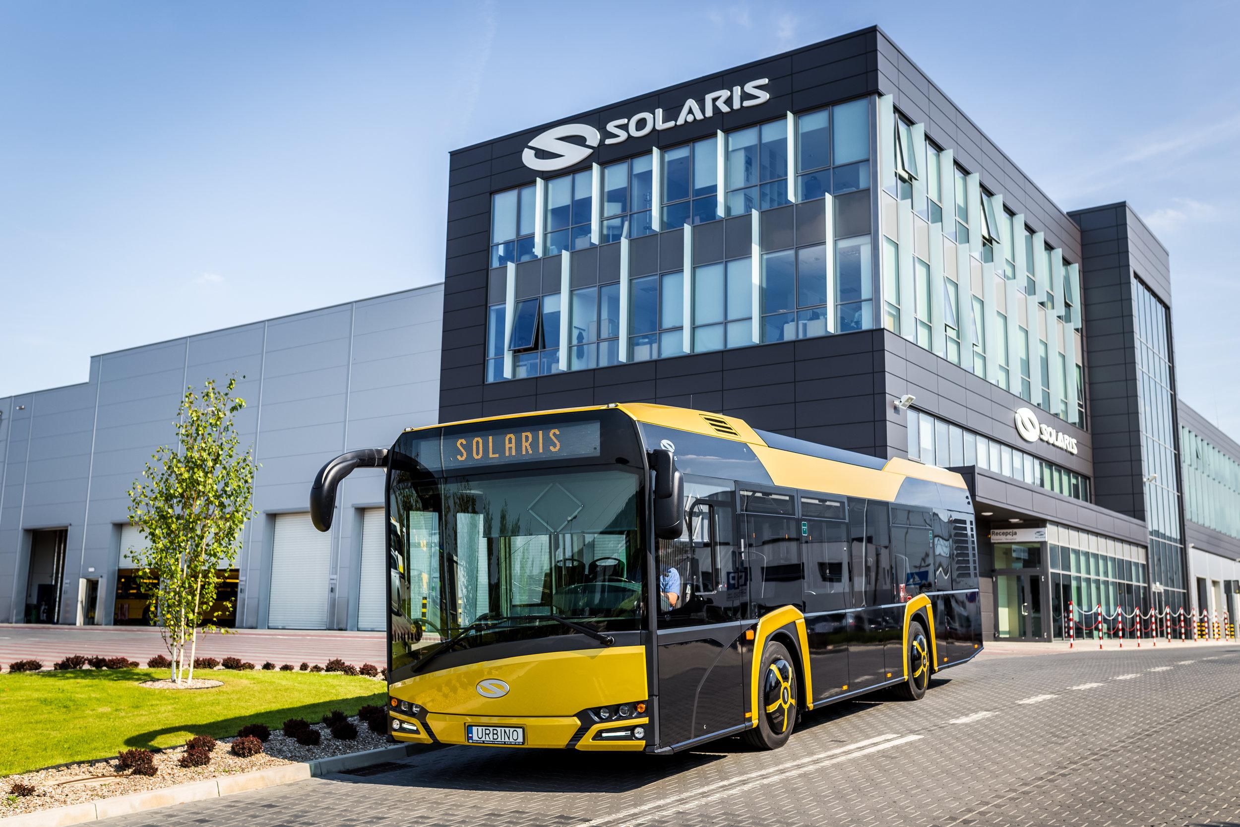 První Nová Urbina 10,5 zamíří do Rakouska a Polska. (foto: Solaris Bus & Coach)