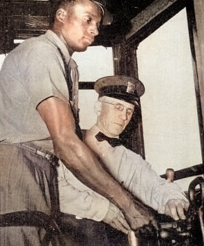 Thomas E. Allen byl jedním z prvních řidičů tramvají tmavé pleti ve Filadelfii. (zdroj: Wikipedia.org)