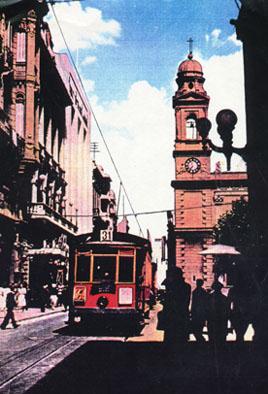 Tramvaj v Montevideu. (zdroj: archiv Marcelo Benoit)